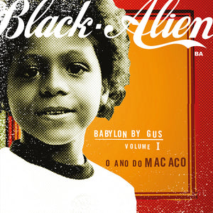 LP Black Alien Babylon By Gus