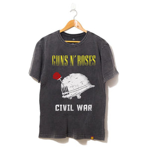 Camisa Guns N Roses Civil War