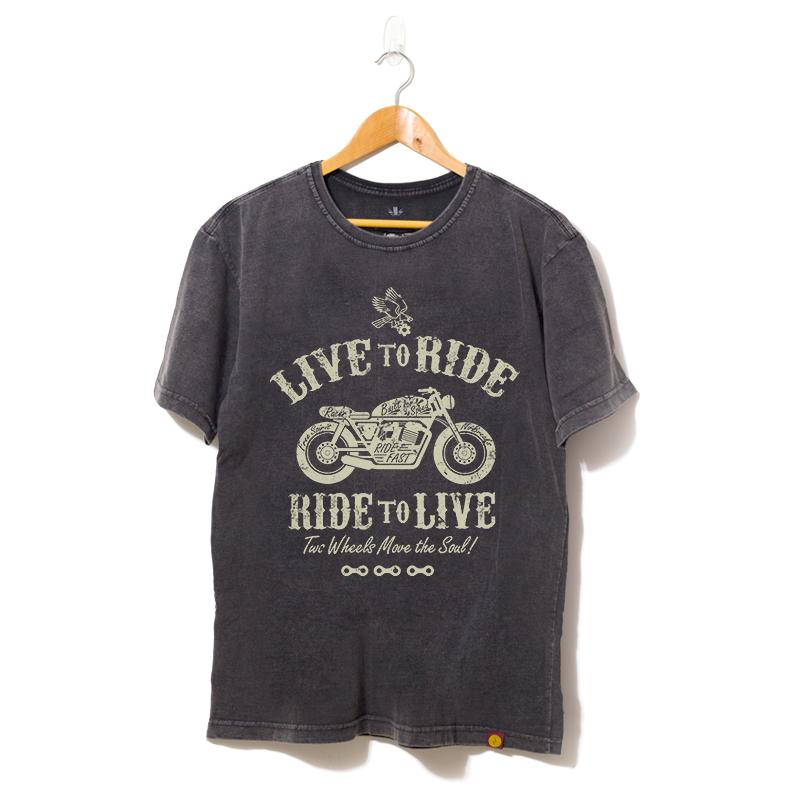 Camisa Live to Ride, Ride to Live