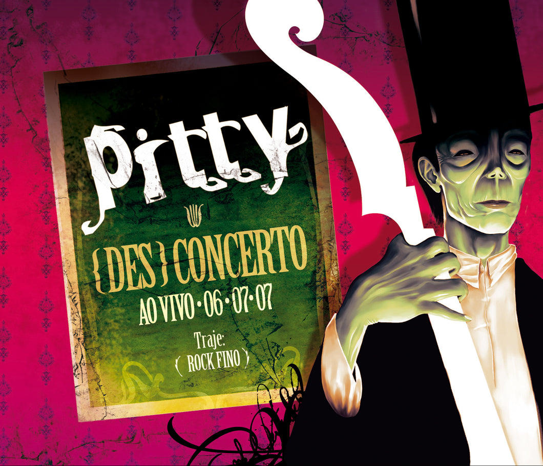 DVD Pitty Desconcerto Ao Vivo