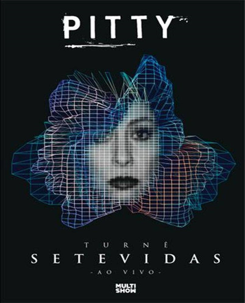 DVD Pitty Turne Setevidas Ao Vivo