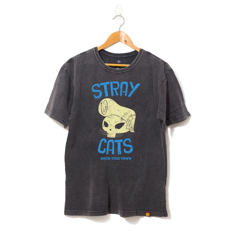 Camisa  Stray Cats Rock This Town