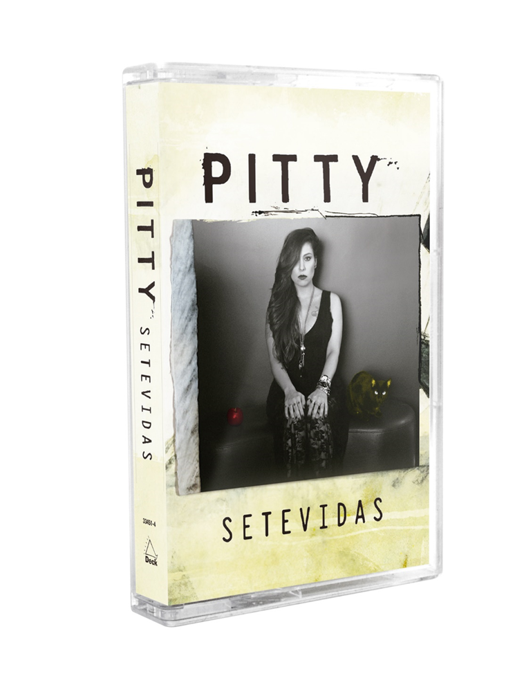 Cassete Pitty Setevidas