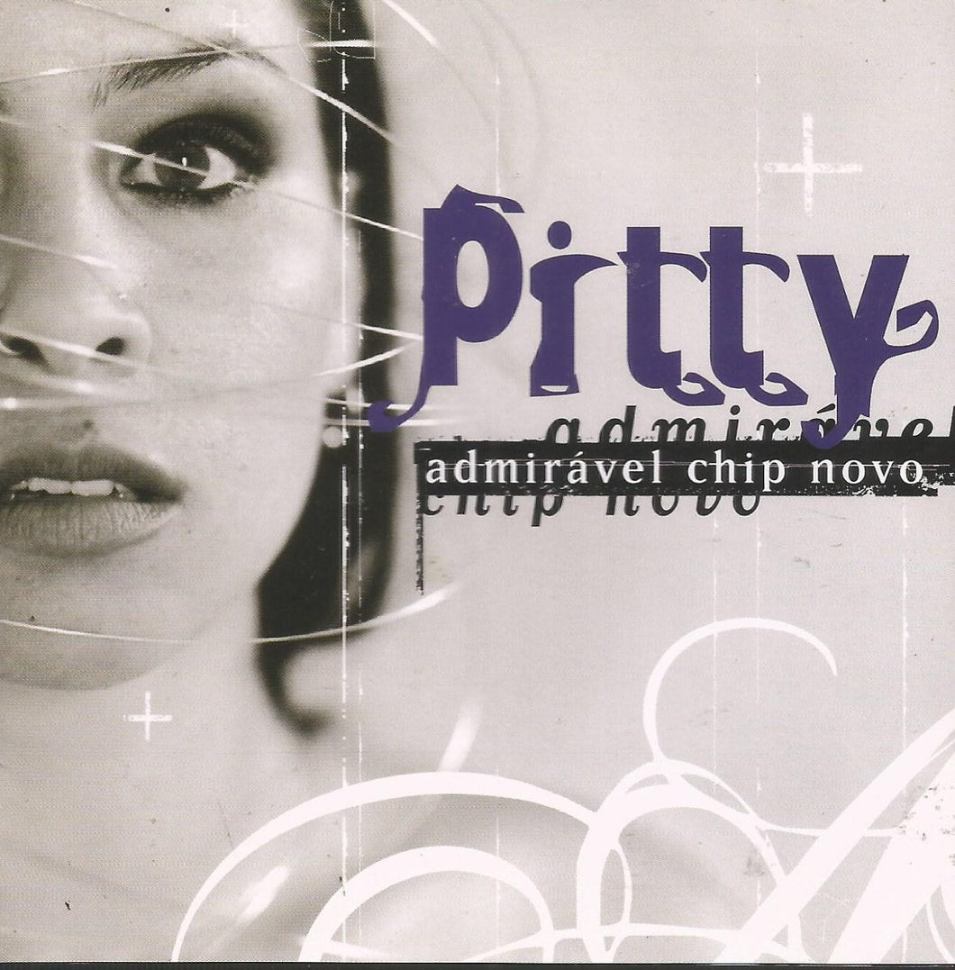 CD Pitty Admiriável Chip Novo