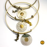 Token MERMAID BANGLE >> w/ Silver Charm