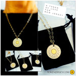 Token GOLD * Oval Link Chain Necklace
