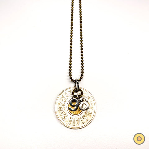 Exit 98 Token Necklace >> One-of-a-Kind