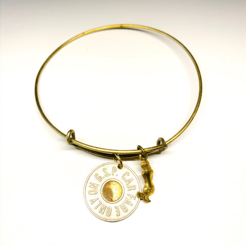 Token MERMAID BANGLE >> w/ Gold Charm