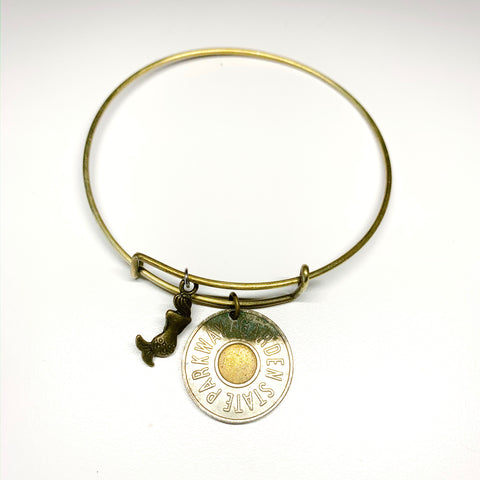 Token MERMAID BANGLE >> w/ Brass Charm