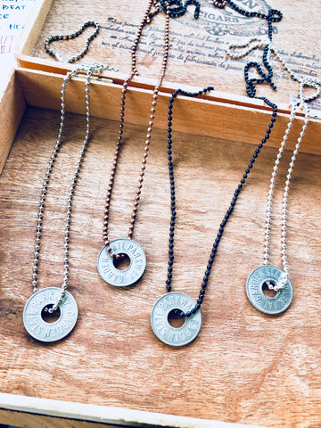 Hole-y Token >> NECKLACE