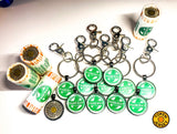 "LIMITED EDITION ""Roll 'em Up"" >> Token Charm (2-sides)"