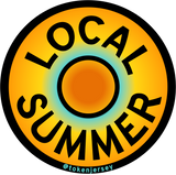 LOCAL SUMMER >> Car Magnet