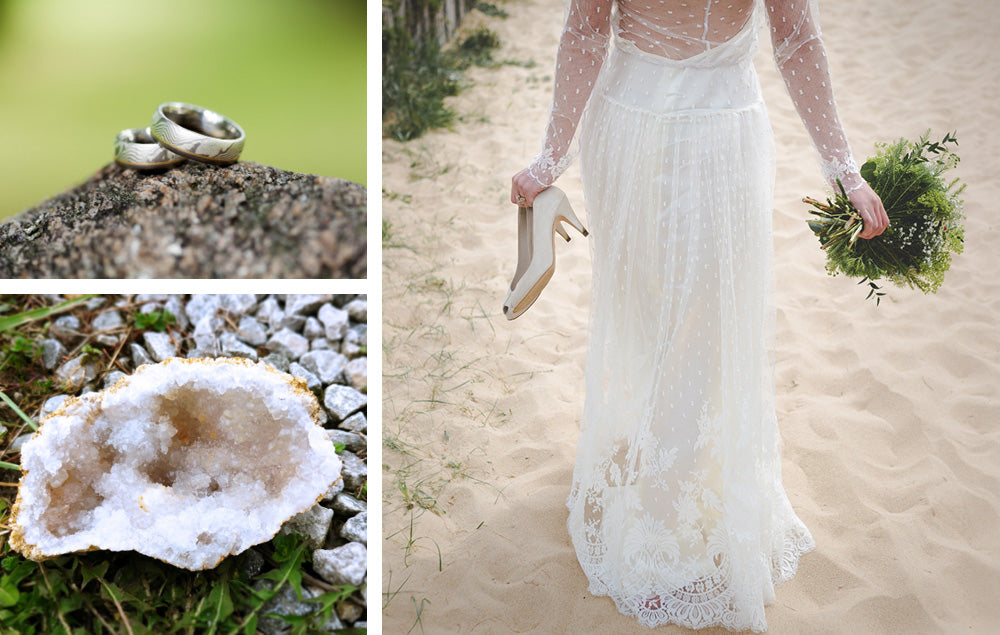 7 Fun Ways You Can Have Agate Geodes in a Wedding