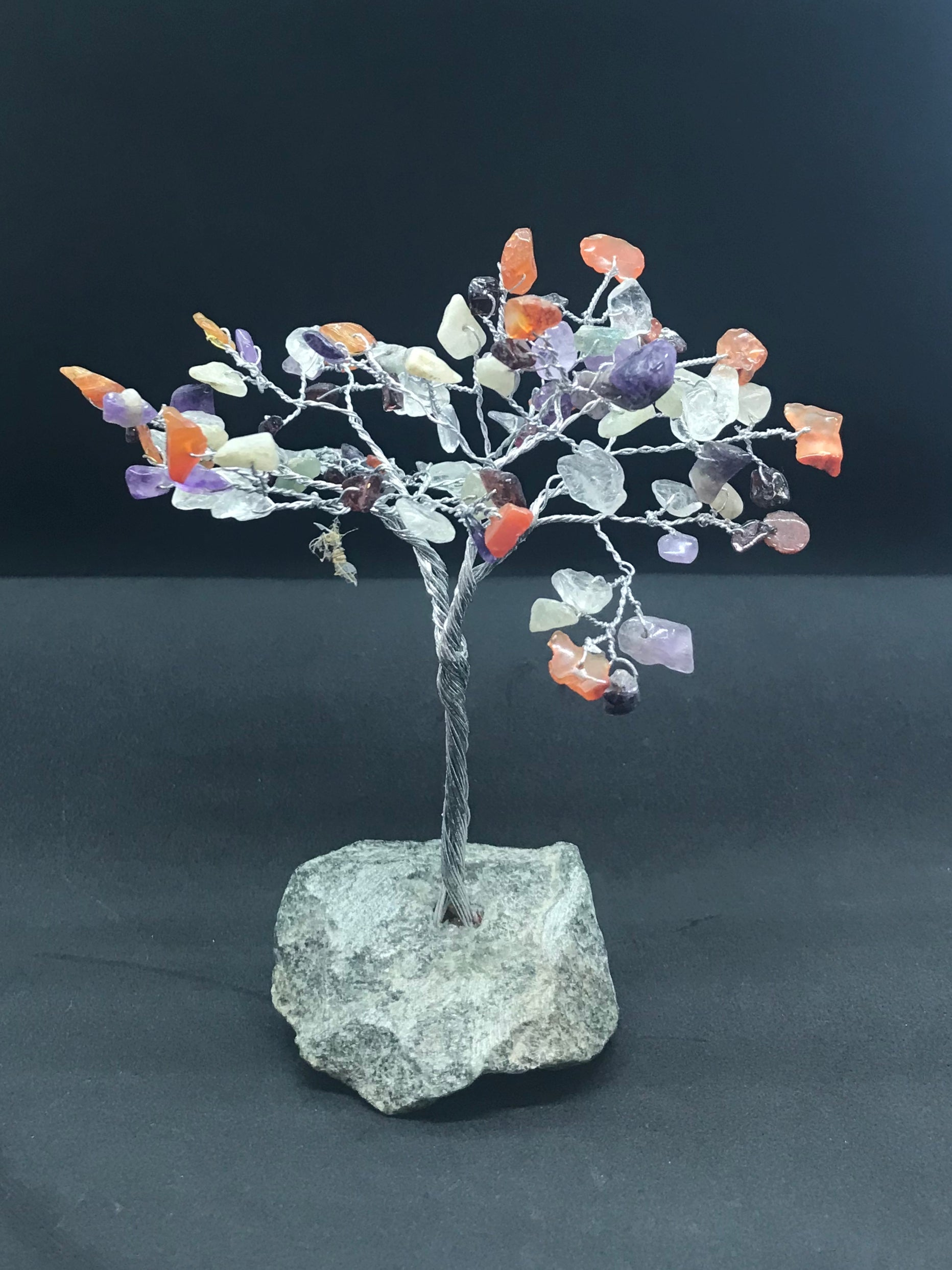 Small multi stone gem tree