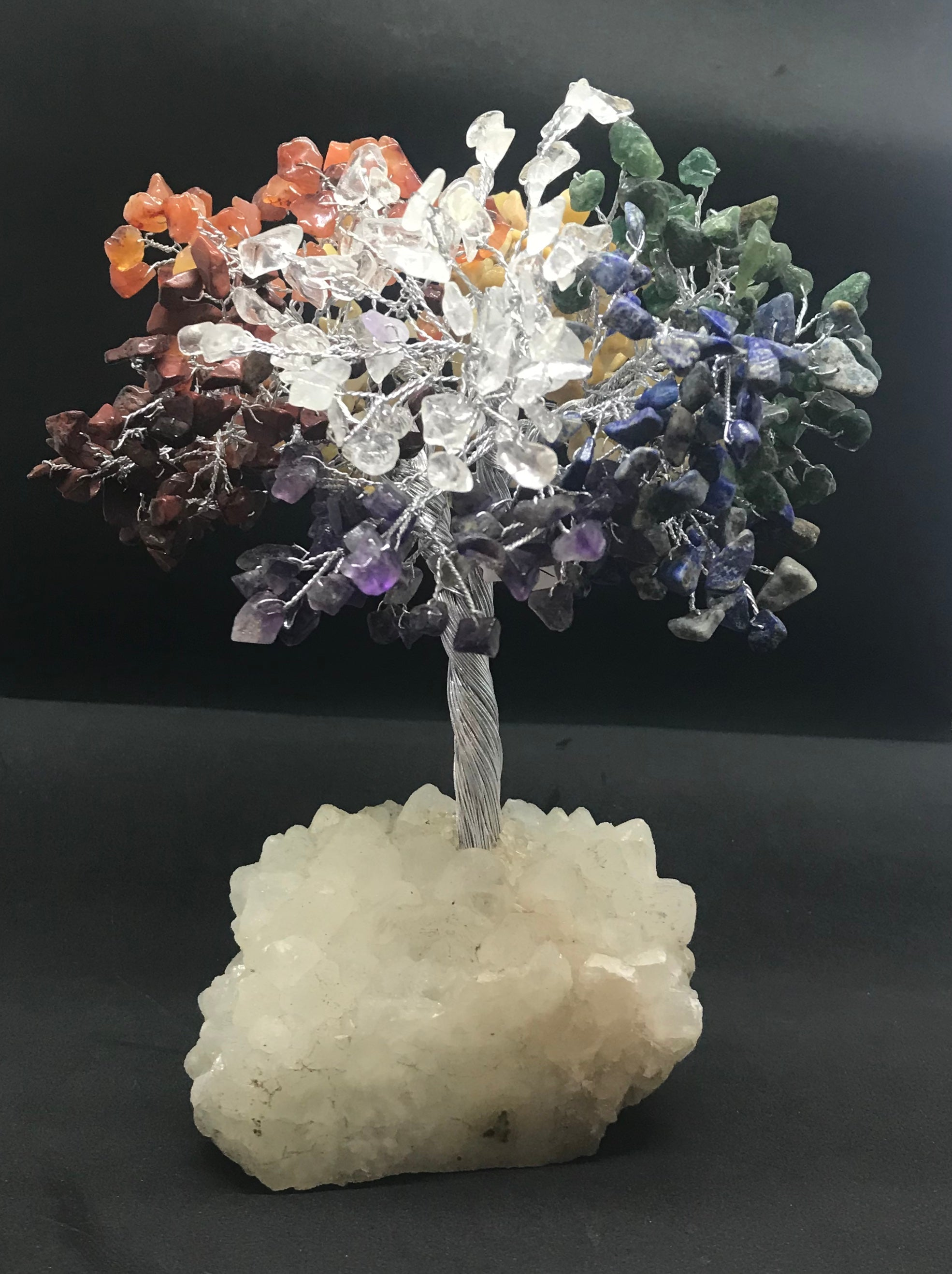 Large 500 stone gem tree