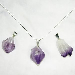 Small Point Pendants - Michael's Gems and Glass