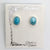 Small Larimar Post Earrings