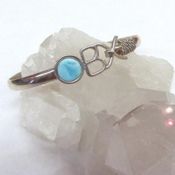 OBX Larimar Bracelet - Michael's Gems and Glass