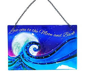 Fused Glass Signs - Michael's Gems and Glass