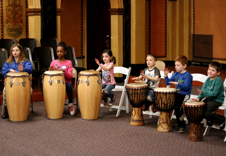 Community Drum Circle with Music for All