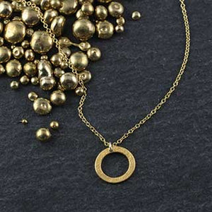 Baby Geo Oval Necklace