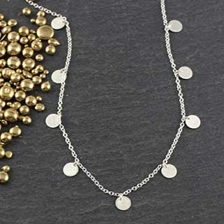 9 Dot Necklace