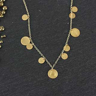 Scattered Dots Necklace