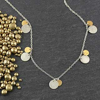 Mixed Dot Sets Necklace