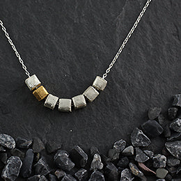 7 Microcube Necklace