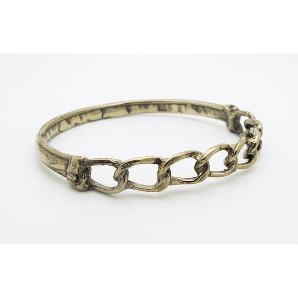 Bone & Chains Bracelet - georgiavaridakis