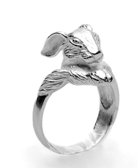 Rabbit Ring by Georgia Varidakis