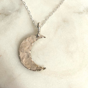 Moon Necklace-ONE OF A KIND