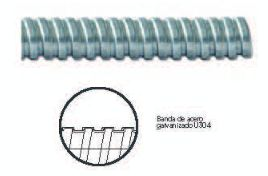 "TUBO METALICO FLEXIBLE ZAPA SLDX 32MM 1¼"" 30M"