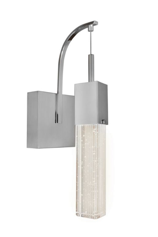 LUMINARIO SUSPENDIDO FIZZ III 1-LIGHT LED WALL SCONCE E22760-89PC 3000K 1 X 7.5W