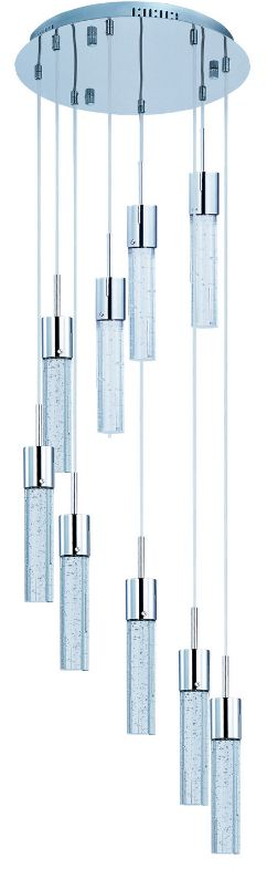 LUMINARIO SUSPENDIDO FIZZ IV 9-LIGHT LED PENDANT E22779-91 3000K 9 X 7.5W