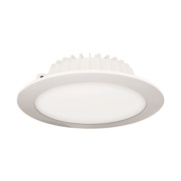 LUMINARIO DOWNLIGHT ZERA 12W 3000K NEGRO