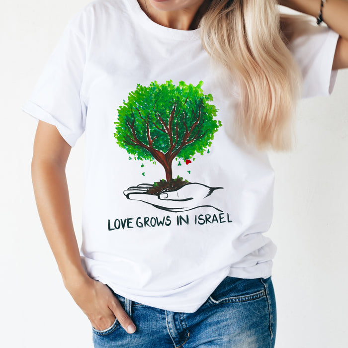 Women's Love Grows in Israel T-Shirt