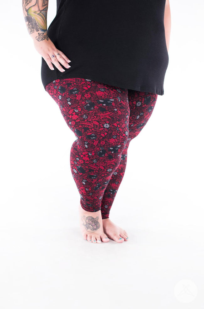 Glamrock Plus2 leggings - SweetLegs