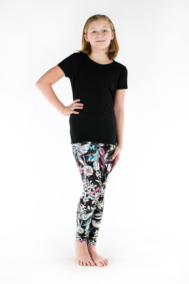 Fleur Real Kids leggings - SweetLegs
