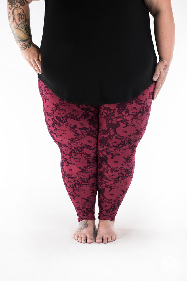 Summer Blush Plus2 leggings - SweetLegs