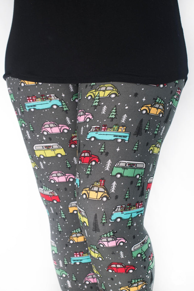 Holiday Road leggings - SweetLegs