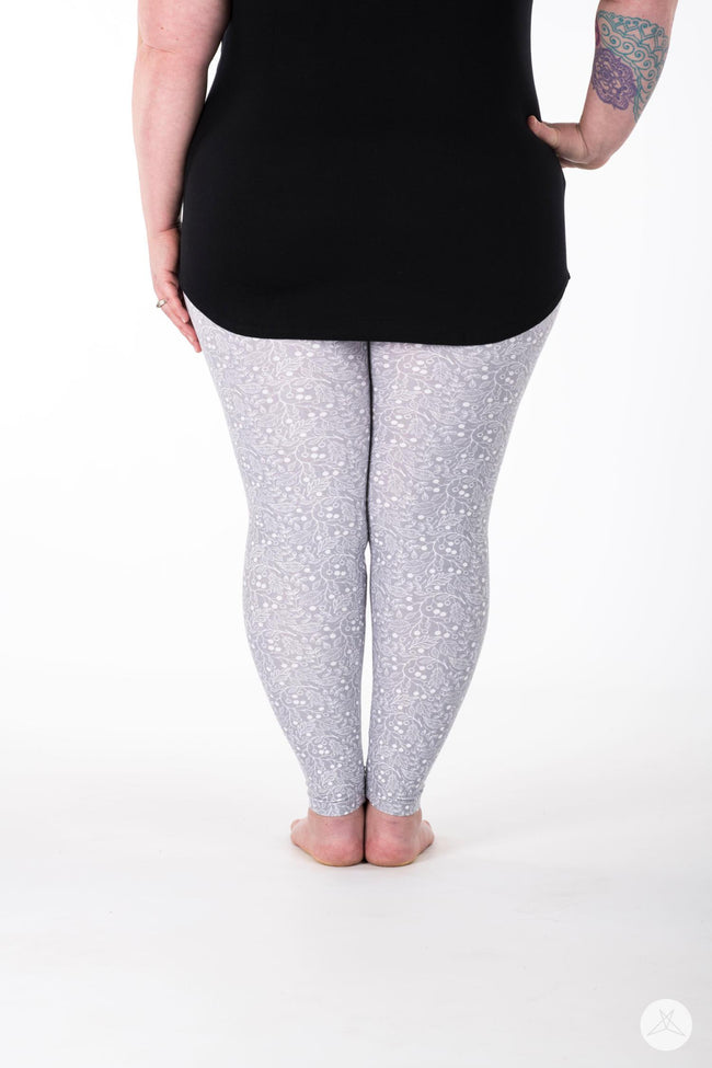 Snowberry Plus leggings - SweetLegs