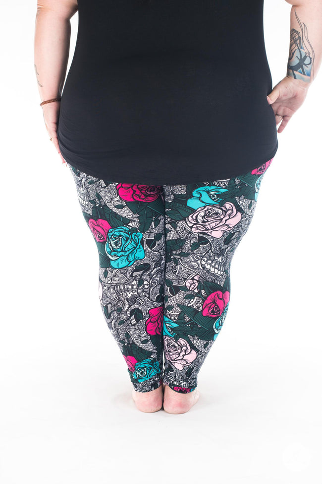Wisteria Plus2 leggings - SweetLegs