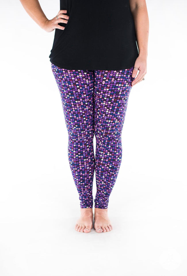 Be Mine leggings - SweetLegs