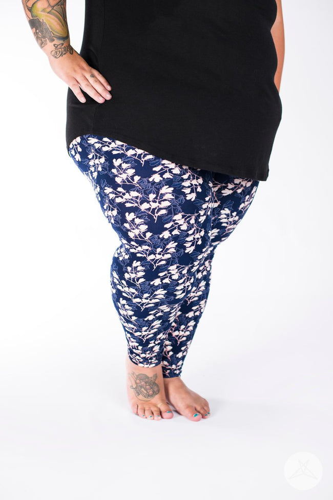 Magnolia Plus2 leggings - SweetLegs