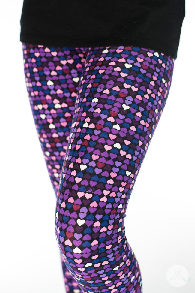 Be Mine Kids leggings - SweetLegs