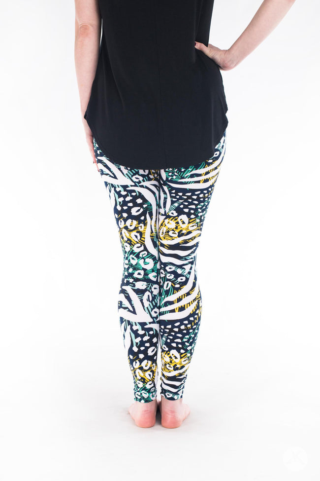 Wild Side Petite leggings - SweetLegs