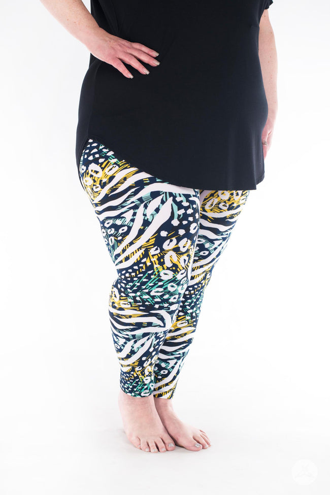 Wild Side Plus leggings - SweetLegs