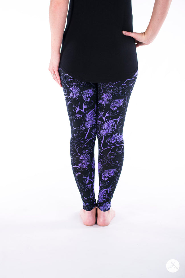 Butterfly Bliss Petite leggings - SweetLegs