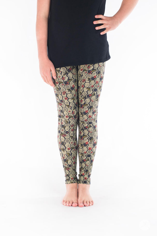 Bee Yourself Kids leggings - SweetLegs